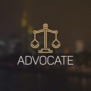 Advocate – Legal balance vector logo geometric free logo preview