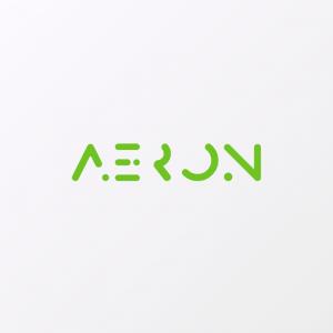 Aeron – Text only vector logo free logo preview
