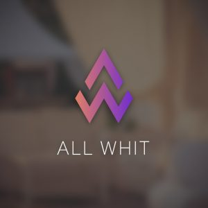 All Whit – A W letter logo vector design free logo preview