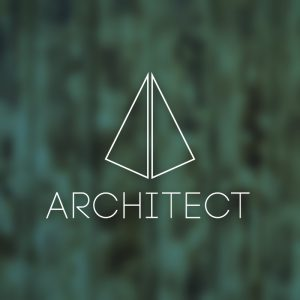 Architect – Minimal abstract logo vector free logo preview