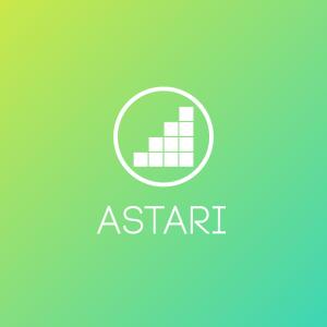 Astari – Gaming level geometric vector logo free logo preview