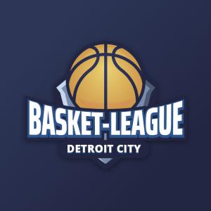 Basket-League – Basketball team logo vector free logo preview