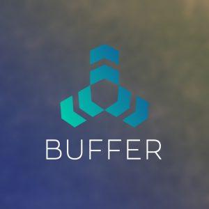 Buffer – Technology company vector logo free logo preview