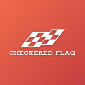 Checkered Flag – Sports racing vector logo free logo preview