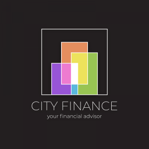 City Finance – Abstract geometric logo vector free logo preview