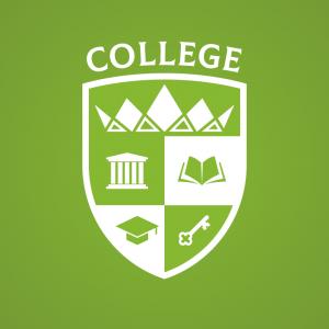 College – Royal university logo vector design free logo preview