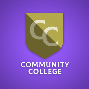 Community College – Letter CC shield logo vector free logo preview