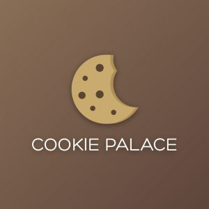 Cookie Palace – Sweet cookie vector logo free logo preview