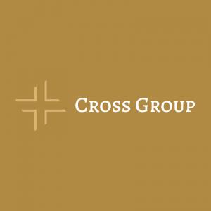 Cross Group – Minimal religious vector logo free logo preview