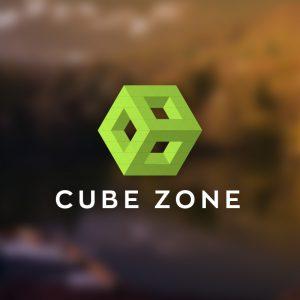 Cube Zone – Geometric 3D box logo vector free logo preview