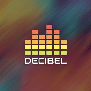 Decibel – Music equalizer graphic logo vector free logo preview