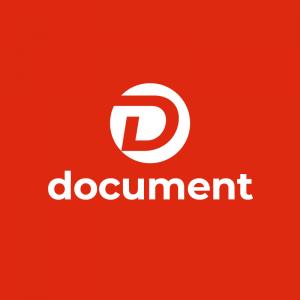 Document – Media letter D vector logo design free logo preview