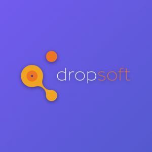 Dropsoft – Technology software vector logo free logo preview