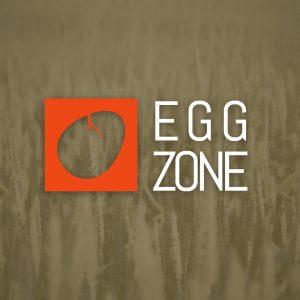 Egg Zone – Cracked egg vector logo design free logo preview