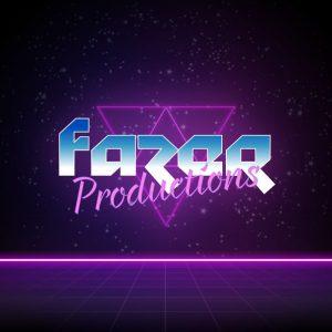 Fazer – Retro future logo vector design free logo preview