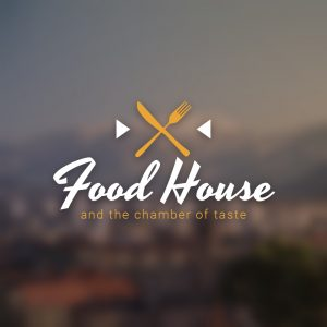 Food House – Catering restaurant vector logo free logo preview
