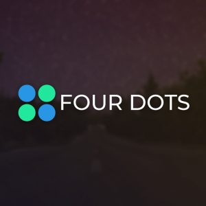 Four Dots – Minimal business vector logo free logo preview