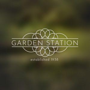 Garden Station – Decorative logo vector design free logo preview