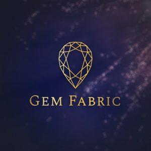 Gem Fabric – Diamond vector logo design free logo preview