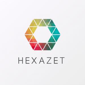 Hexazet – Geometric abstract logo vector free logo preview