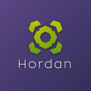 Hordan – Abstract vector logo download free logo preview