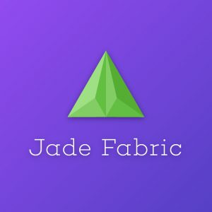 Jade Fabric – Geometric vector logo design free logo preview
