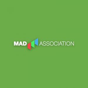 Mad Association 2 – Modern vector logo design free logo preview