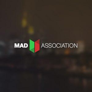 Mad Association – Business logo design vector free logo preview