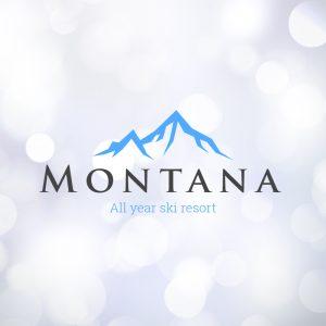 Montana – Mountain travel vector logo free logo preview