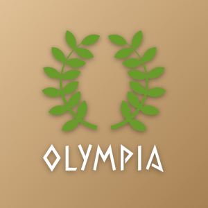 Olympia – Leaf plant nature logo vector free logo preview
