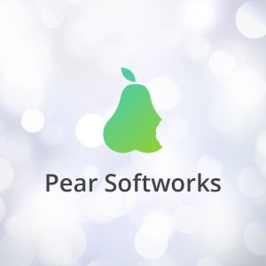 Pear Softworks – Fruit vector logo software free logo preview