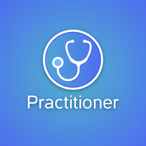 Practitioner – Stethoscope medical logo vector free logo preview