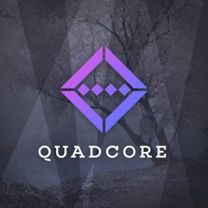 Quadcore – Geometric technology vector logo free logo preview