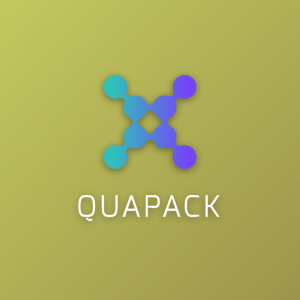 Quapack – Abstract technology logo design free logo preview