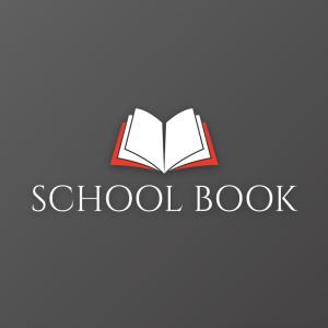 School Book – Educational vector logo book free logo preview