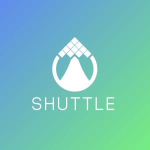 Shuttle – Pixel geometric plane vector logo free logo preview