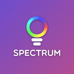 Spectrum – Light RGB LED logo vector free logo preview