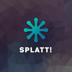 Splatt! – Abstract vector logo shape free logo preview