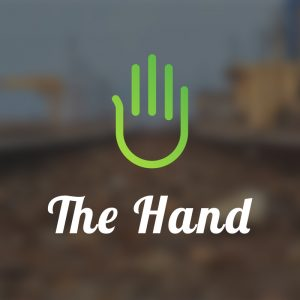 The Hand – Minimal vector logo hand free logo preview