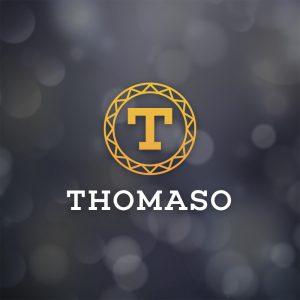 Thomaso – Elegant letter T logo design free logo preview