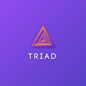 Triad – Triangle vector logo design free logo preview