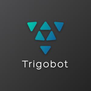 Trigobot – Software technology logo vector free logo preview