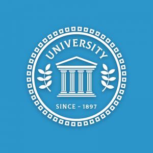 University – Decorative logo column logo vector free logo preview