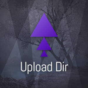 Upload Dir – Abstract geometric logo vector free logo preview