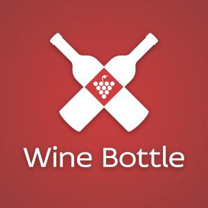 Wine Bottle – Grape wine logo vector free logo preview
