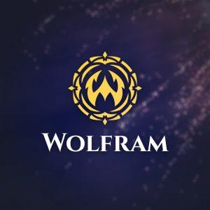 Wolfram – Letter W vector logo free logo preview