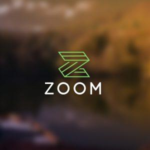 Zoom – Letter Z modern business vector logo free logo preview