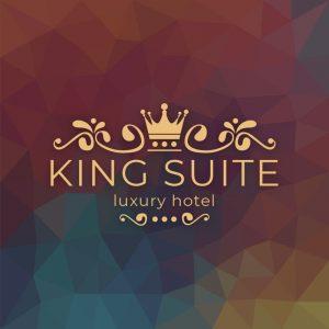 King Suite – Royal decorative vector logo design free logo preview