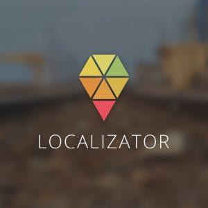 Localizator – Location pin vector logo free logo preview