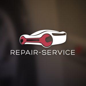 Repair-Service – Automotive repair vector logo free logo preview